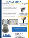 Trimble GPS -Rental Program in Qatar